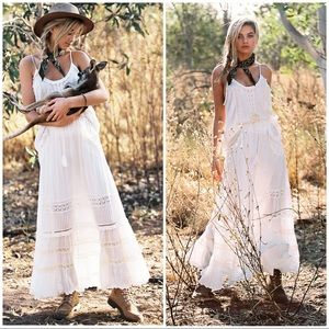 Spell & The Gypsy Hanging Rock Maxi Skirt size S